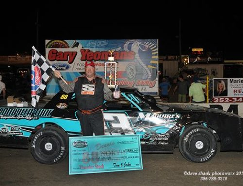 Jamie Carter wins Modified race in a thriller as Durden bests Thunder field for Dennis North Win!